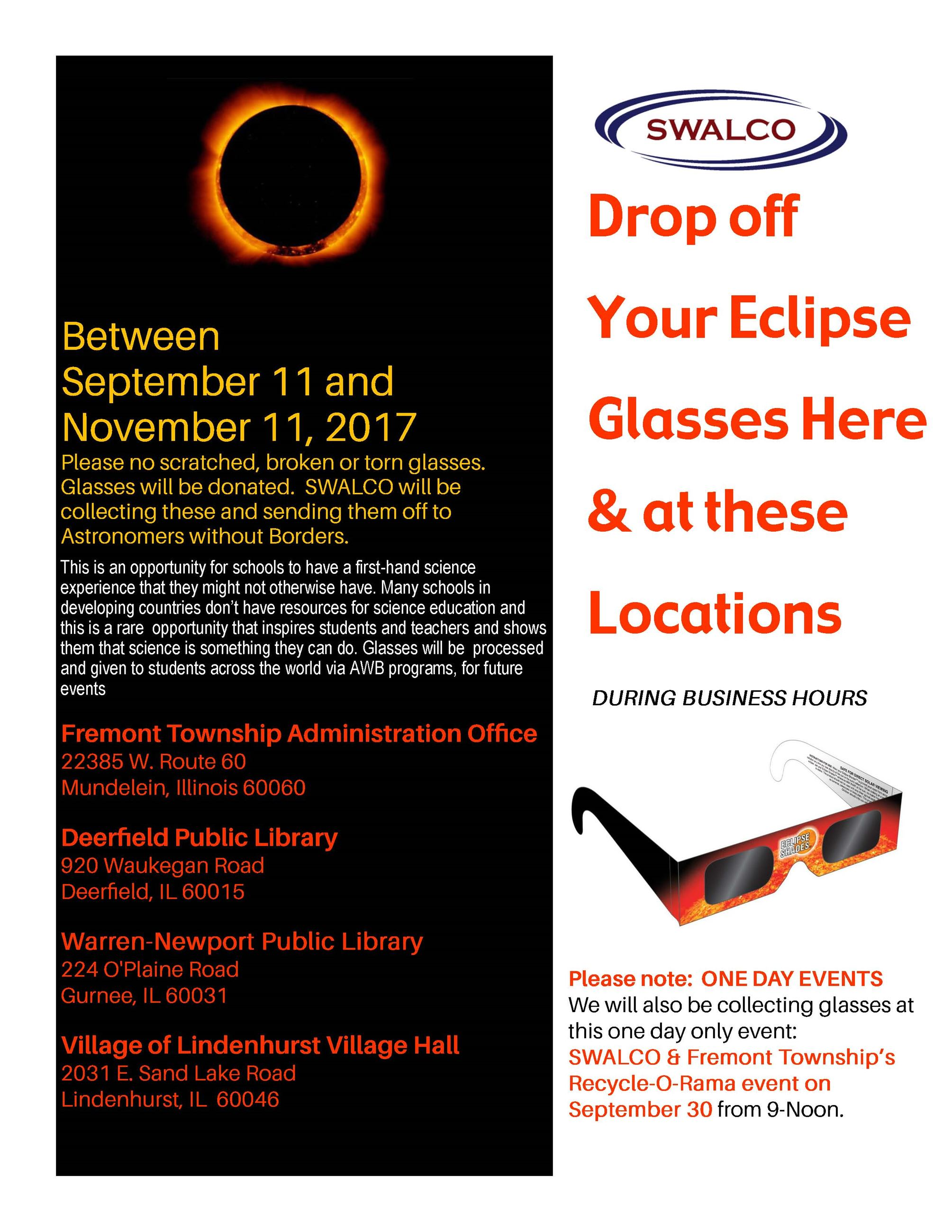 ECLIPSE GLASSES B 2017