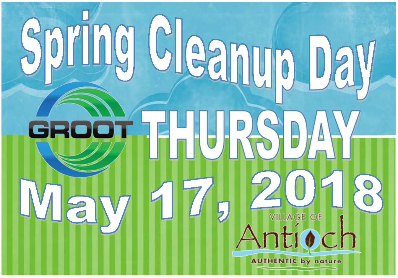 Spring Cleanup Day 2018 Antioch
