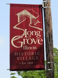 Long Grove Street Sign