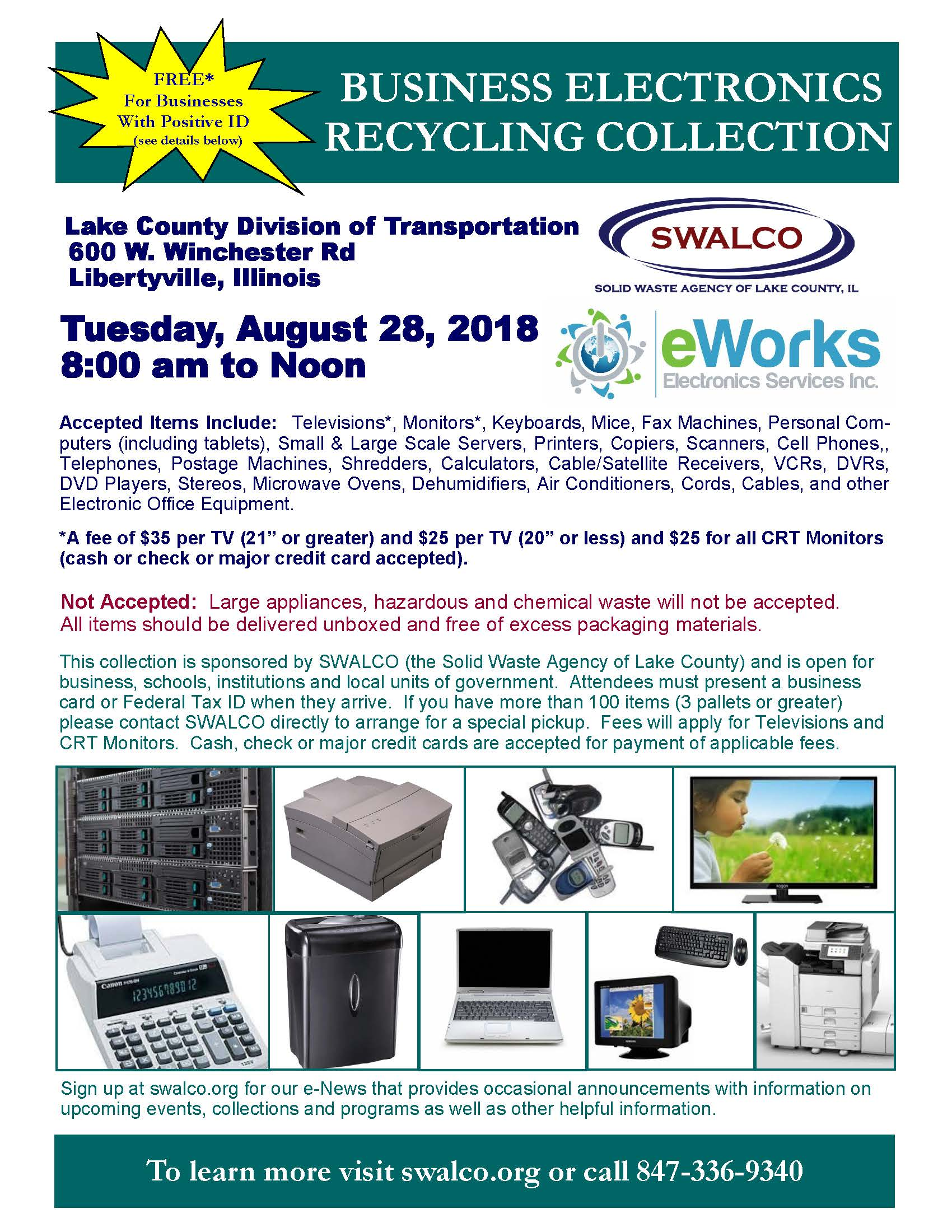 Electronics E-Works LCDOT August 28 2018