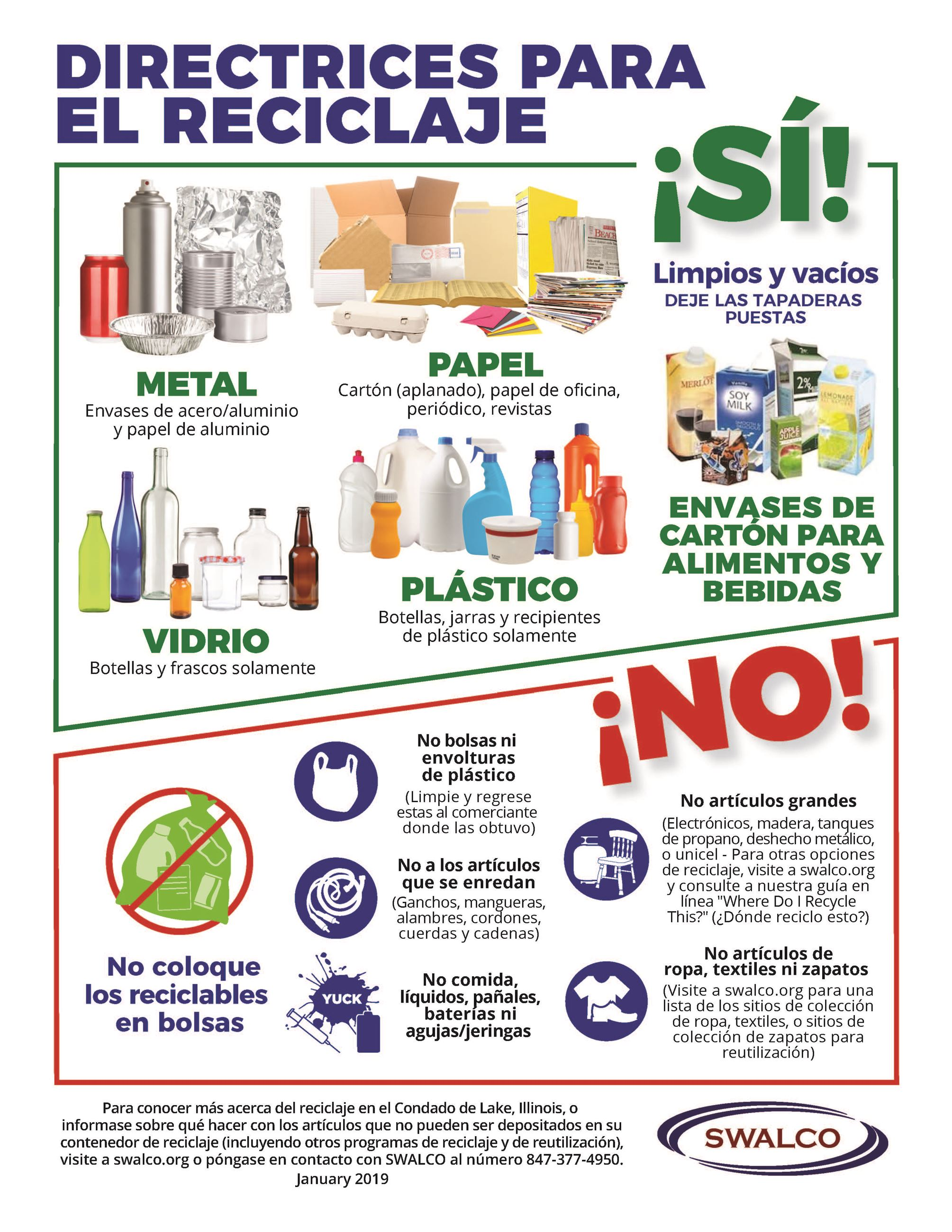Recycling Guidelines Spanish