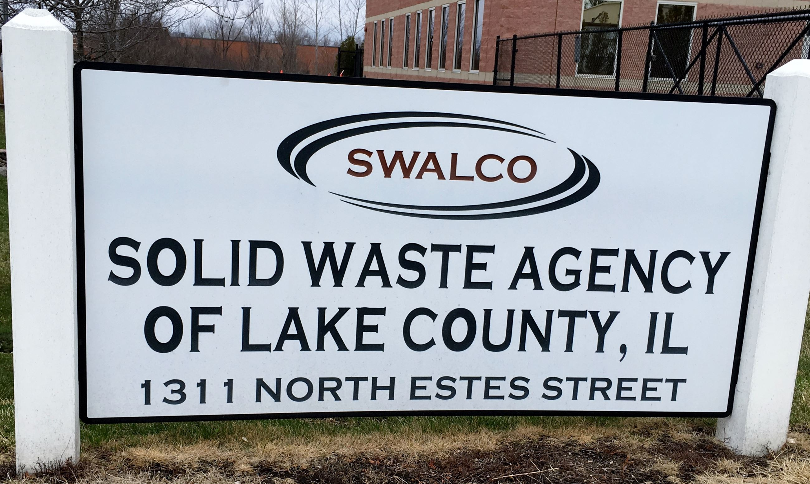 SWALCO Entry Sign - color