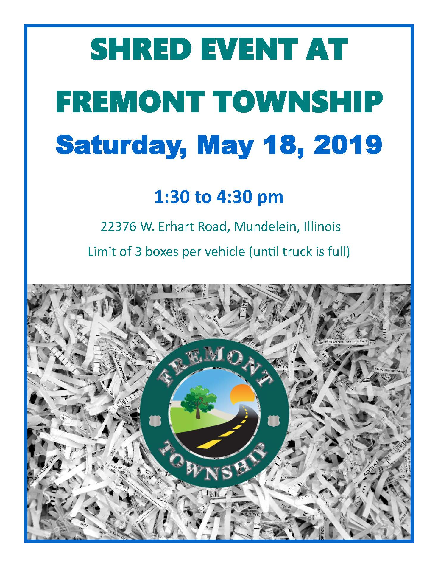 Fremont Shred Event May 2019
