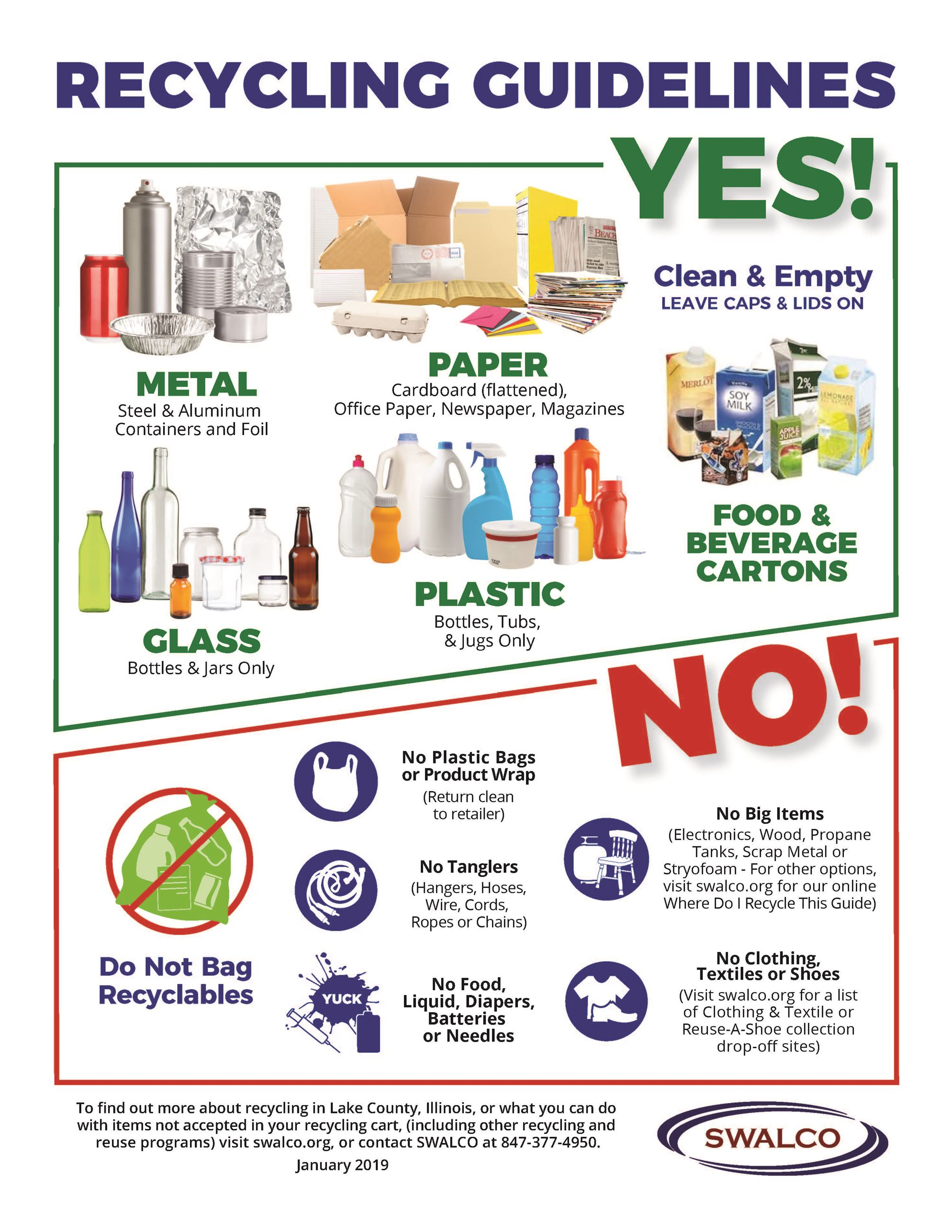 Recycling Guidelines English